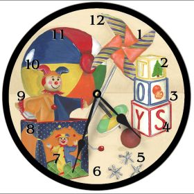 Toys Round Clock