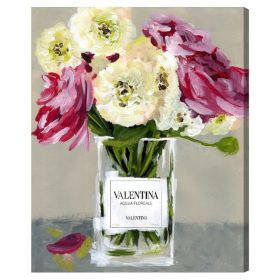 Acqua Florale Canvas Wall Art