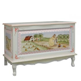 Enchanted Forest French Toy Chest