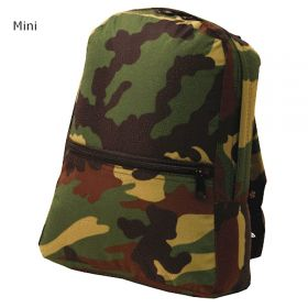 Children's Personalized Backpack in Camo