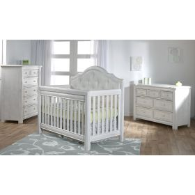 Cristallo 3 Piece Nursery Set in Vintage White