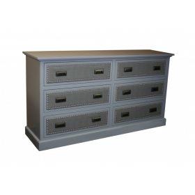 Laguna Extra Long 6 Drawer Dresser