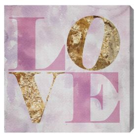 Love Pastel Canvas Wall Art