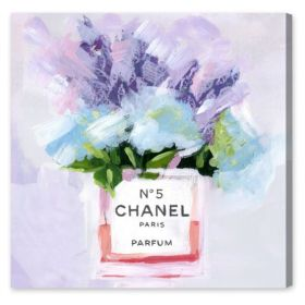 Paris N5 Canvas Wall Art