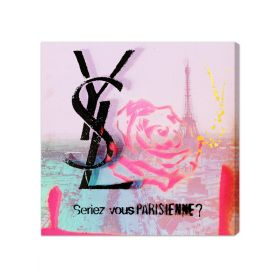 Parisienne Canvas Wall Art