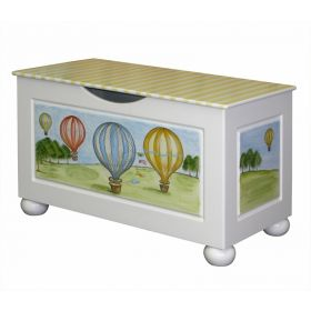 Hot Air Balloons Toy Chest