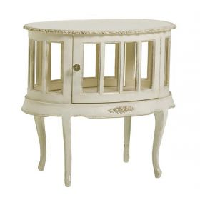 Jacqueline Side Table in Versailles Creme