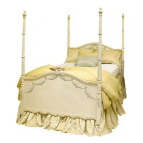 Kristina Bed with Appliques