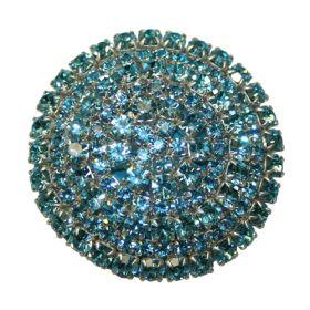 Aqua Brilliant Drawer Knobs