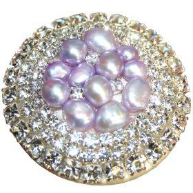 Lavender Glamour Drawer Knobs