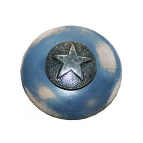 Silver Star Drawer Knobs