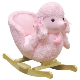Mitzi Poodle Rocking Chair with Musical Sound