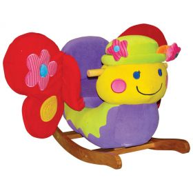 Brandy Butterfly Rocker with Musical Sound and Flapping Wings