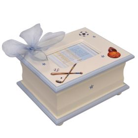 Memory Handpainted Keepsake Box with All Sports