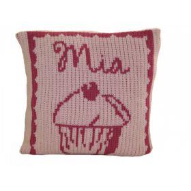 Cupcake Pillow with Name