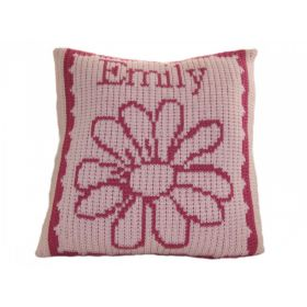 Flower Pillow with Name