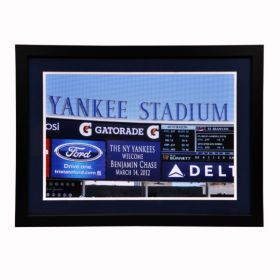 A Yankee Fan is Born Picture Personalized with Name and Birth Date