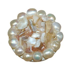 Shell and Pearl Drawer Knobs