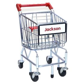 Kids Personalized Toy Grocery Shopping Cart