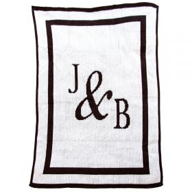 You & Me Blanket with Initials
