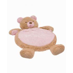 Pink Bear Baby Mat