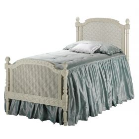Josephine Bed with Painted Lattice