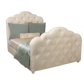 Sienna Tufted Upholstered Bed