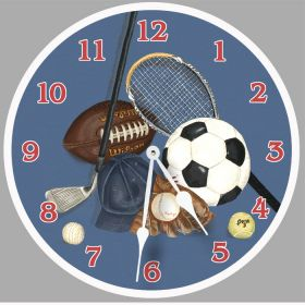 Little Athlete Sports Clock