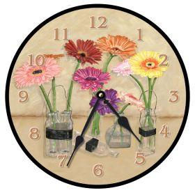 Gerber Bottles Round Clock
