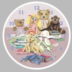 Story Time Round Clock