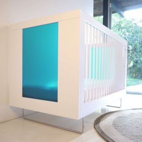 Alto Crib With Translucent Color Panels - Free Standard Shipping