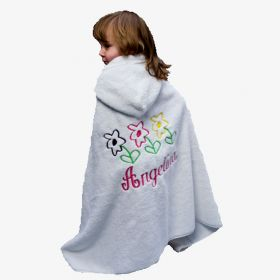 Personalized Hooded Towels with Name and Design