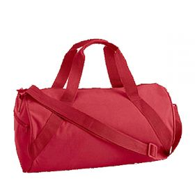 Children's Personalized Duffle Bag in Red