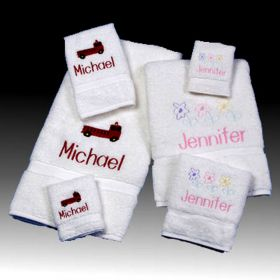 Personalized Children's Towel Set