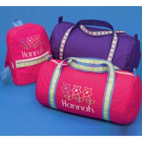 Children's Personalized Duffle & Mini Backpack