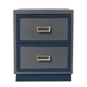 Max 2 Drawer Nightstand