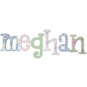 Meghan Daisies Hand Painted Wooden Wall Letters