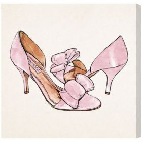 My Sweet Shoes Canvas Wall Art