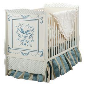 Bluebird Cottage Crib