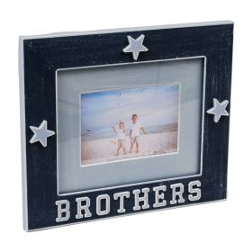 Brothers Handpainted Picture Frame