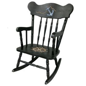Child Nautical Rocking Chair
