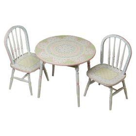 Round Serendipity Play Table and Chair Set