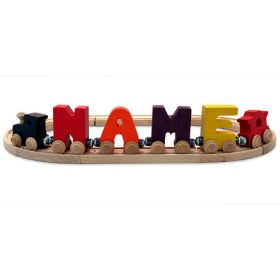 Name Train Letters in Bright Colors (Priced with 5 Letters)