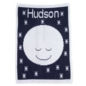 Goodnight Moon Stroller Blanket with Name