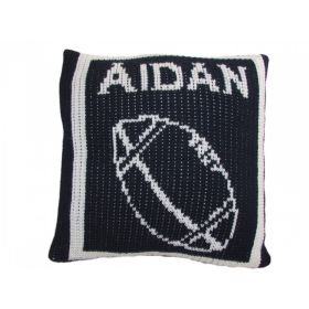 Football Pillow with Name