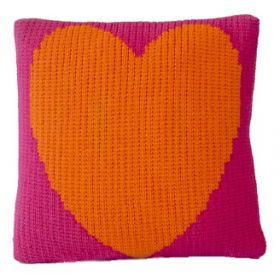 Heart Design Pillow