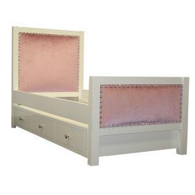 Bel Air Bed with Rhinestone Nailheads