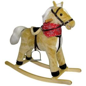 Buffy Horse Rocker with Moving Mouth & Tail
