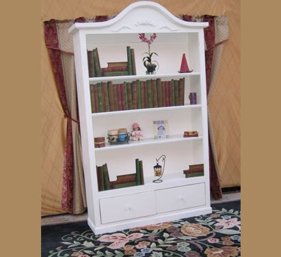 bay natural bookcases cream provincial three oak design french ladder views bookcase with and european finish more in